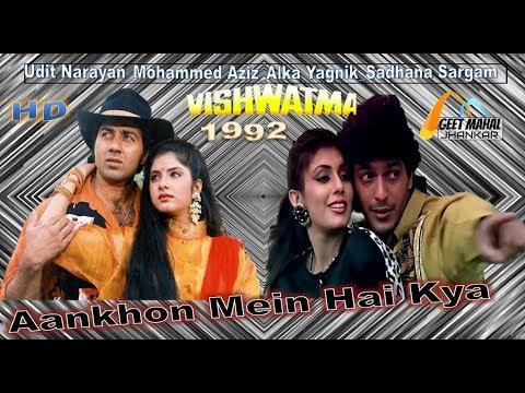 Aankhon Mein Hai Kya Tasveer Teri ((Special Jhankar)) Vishwatma(1992))_with GEET MAHAL