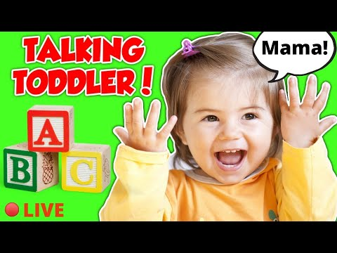 Toddler Learning Video   Baby Videos for Babies and Toddlers   First Words   Learn to Talk   Speech