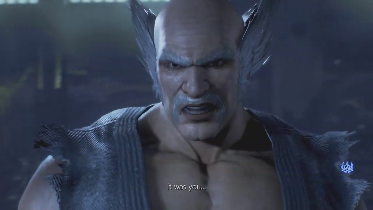 Tekken 7 You Going Down Old Man Youtube