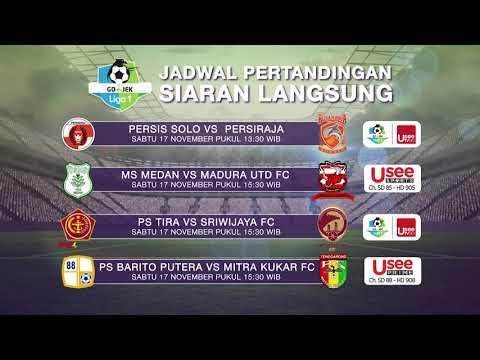 Saksikan pertandingan Liga 1 dan final Liga 1 U-19