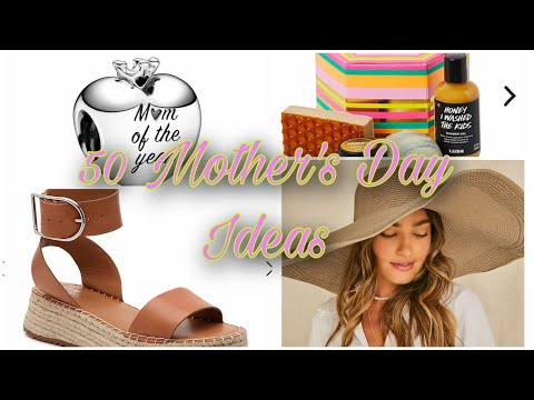 50 Mother's Day Gift Ideas 2020 Mother's Day Shop With Me