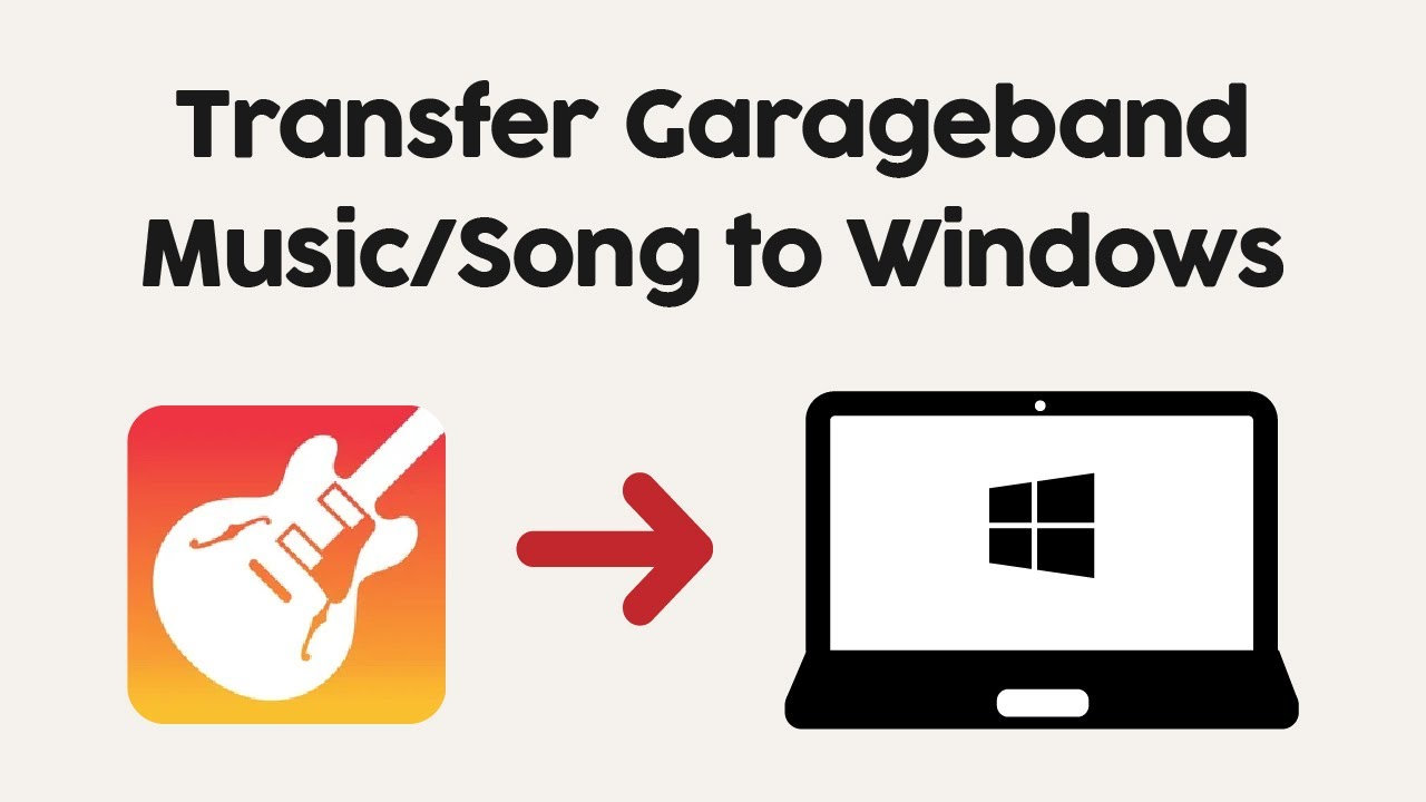 How To Transfer Garageband Song Music File To Windows Pc From Iphone Or Ipad
