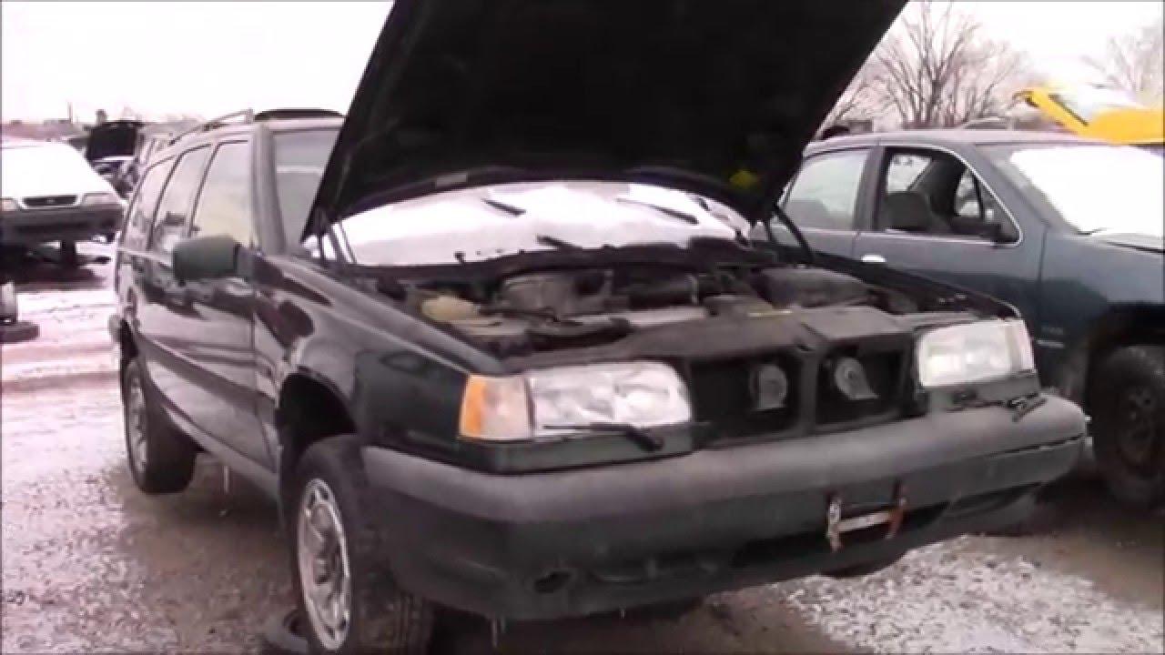 1997 Volvo 850 Wagon Awd In The Junk Yard Youtube