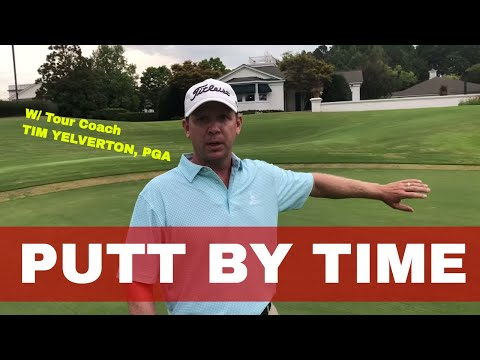 """Time Concept"" Distance Control Test, Putting with Tim Yelverton, PGA Be Better Golf"