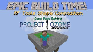 Welcome back to Minecraft Project Ozone 3, today we start to build ...