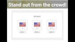 How to Pass Level 1 US - UK English Certification |  Freelancer Tutorial