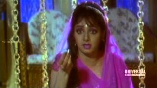 Jagadeka Veerudu Atiloka Sundari Movie Scenes | Chiranjeevi & His Family Comedy Scene