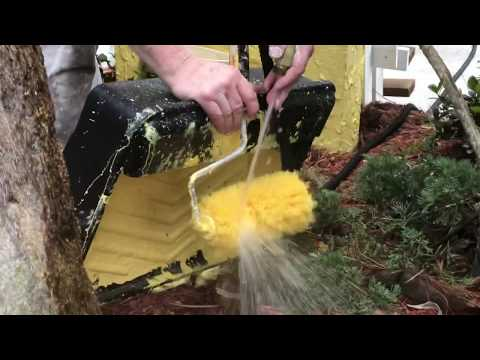 How To Clean Your Paint Roller the Fast Way - Spencer Colgan