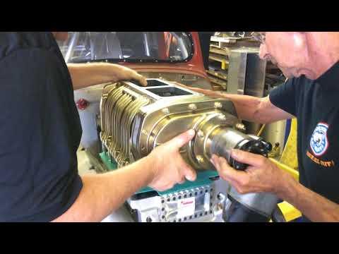 Rossitter Supercharged Nostalgia Engine build