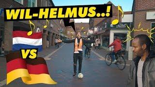 Slecht idee: het Wilhelmus zingen in Duitsland 😅😅 - Duitsland vs Nederland
