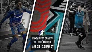 Kansas City Comets vs St Louis Ambush
