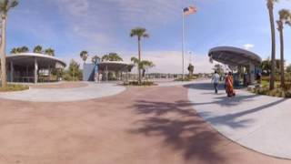 Kennedy Space Center Entrance  360 - First Pillar Studios