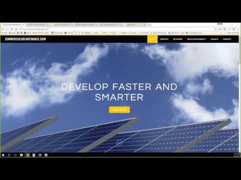Commercial Solar Finance Webinar