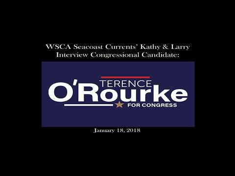 WSCA 106.1FM Portsmouth Radio Interview with Congressional Candidate Terence O'Rourke