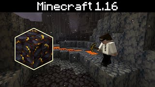 Minecraft 1.16 - Basalt Deltas Volcanic Nether Biome, Blackstone, Quartz Brick, Soul Fire Campfire