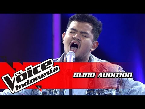 Fajar - Hero  | Blind Auditions | The Voice Indonesia GTV 2018
