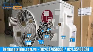Điều hòa LG V18ENF 18000BTU 1 chiều inverter gas R32