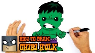 How to Draw Hulk | The Avengers(Learn How to Draw Chibi Hulk with our step by step drawing lessons. Follow along with our easy step by step drawing lessons. Join the Club! SUBSCRIBE ..., 2016-01-23T17:00:02.000Z)