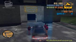 GTA 3 - Walkthrough - Mission #6 - The Fuzz Ball (HD)