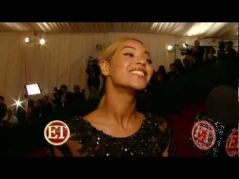 Beyonce full Interview ET on Met Gala 2012 HD @BeyonceTribe