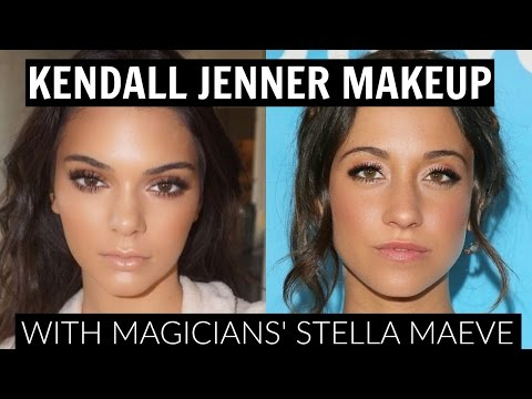 Kendall Jenner Makeup Tutorial with the Magicians' Stella Maeve