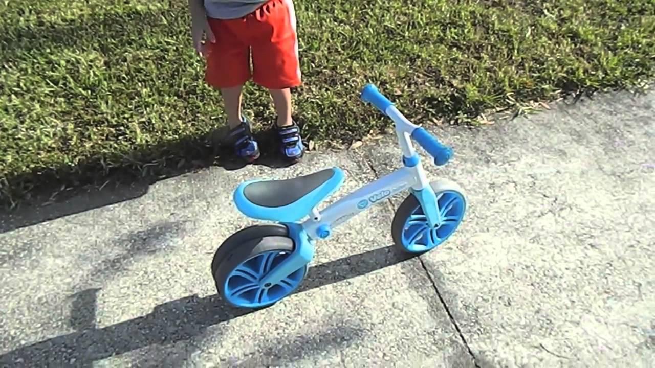Беговел Y-Volution Y-Velo Junior Balance Bike - YouTube