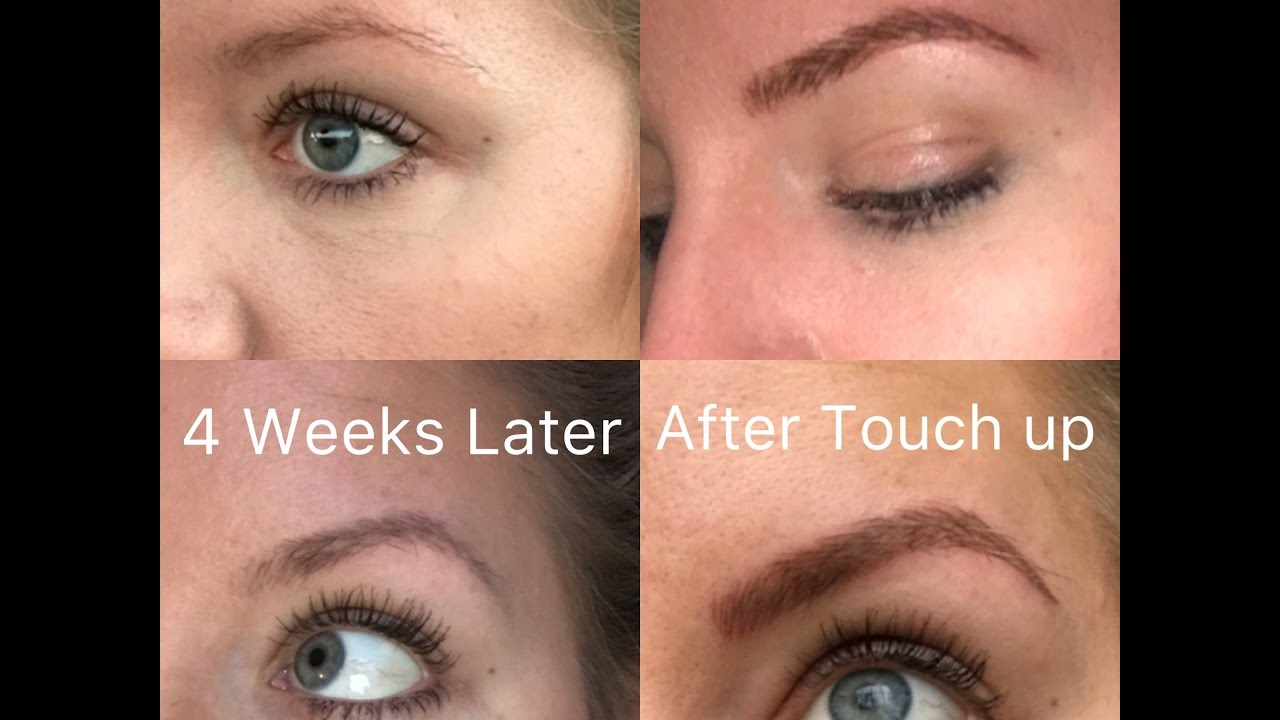 My Microblading Experience Before/During/After/1 Month update