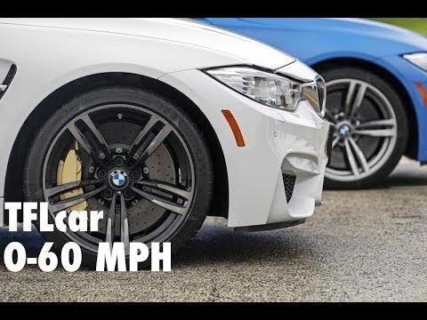 2015 BMW M3 & M4 0-60 MPH Review in TFL 4K (BMW M Week)