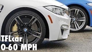 2015 BMW M3 M4 0 60 MPH Review In TFL 4K BMW M Week