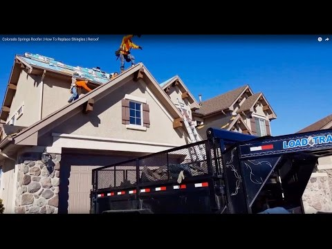 The Best Colorado Springs Roofer Integrity Roofing And Painting Youtube