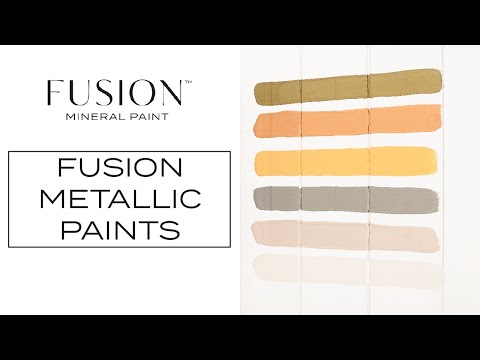 All About Metallic Paints | Fusion™ Mineral Paint