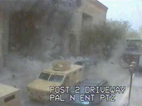 security cam rocket attacks