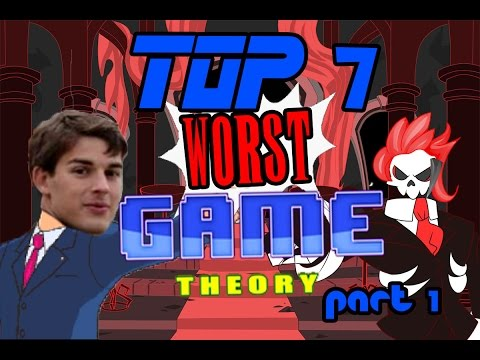Top 7 Worst Game Theory Videos [Part 1]