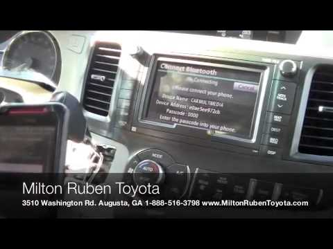 Bluetooth Pairing on the 2013 Toyota Sienna