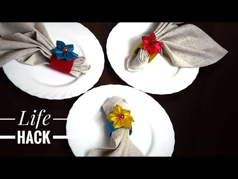 How To Make Creative Napkin Holders Out Of Paper Rolls - Life Hacks With Paper Rolls