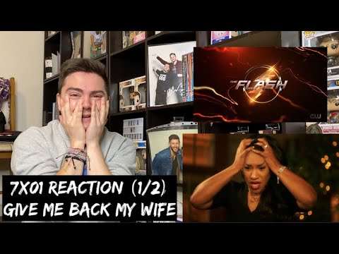 Download THE FLASH - 7x01 'ALL'S WELL THAT ENDS WELL' REACTION (1/2)