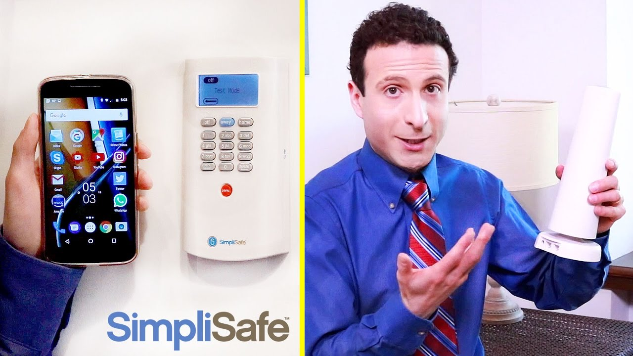 best home security system diy simplisafe review full test youtube. Black Bedroom Furniture Sets. Home Design Ideas
