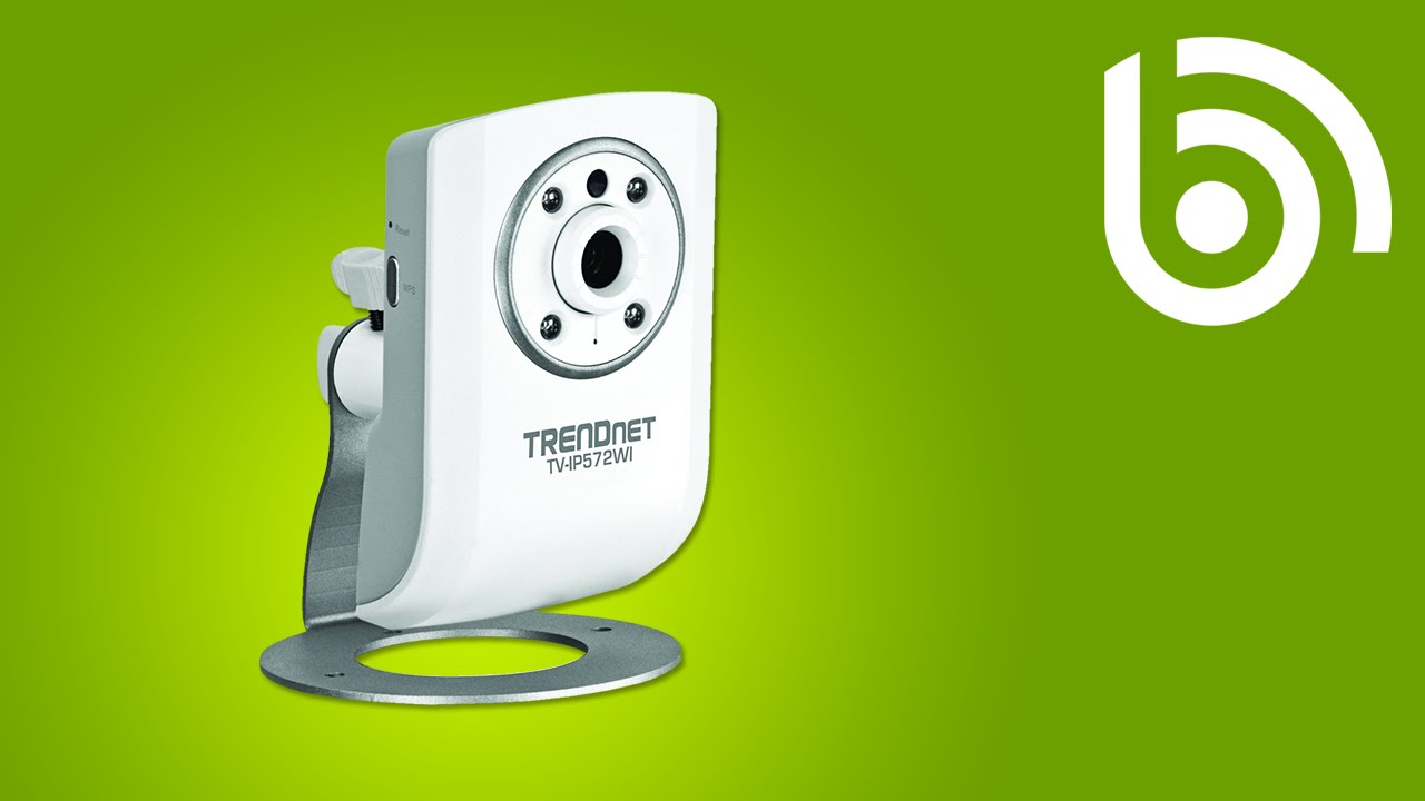 TRENDnet TV-IP572WI WiFi IP Camera Introduction - YouTube