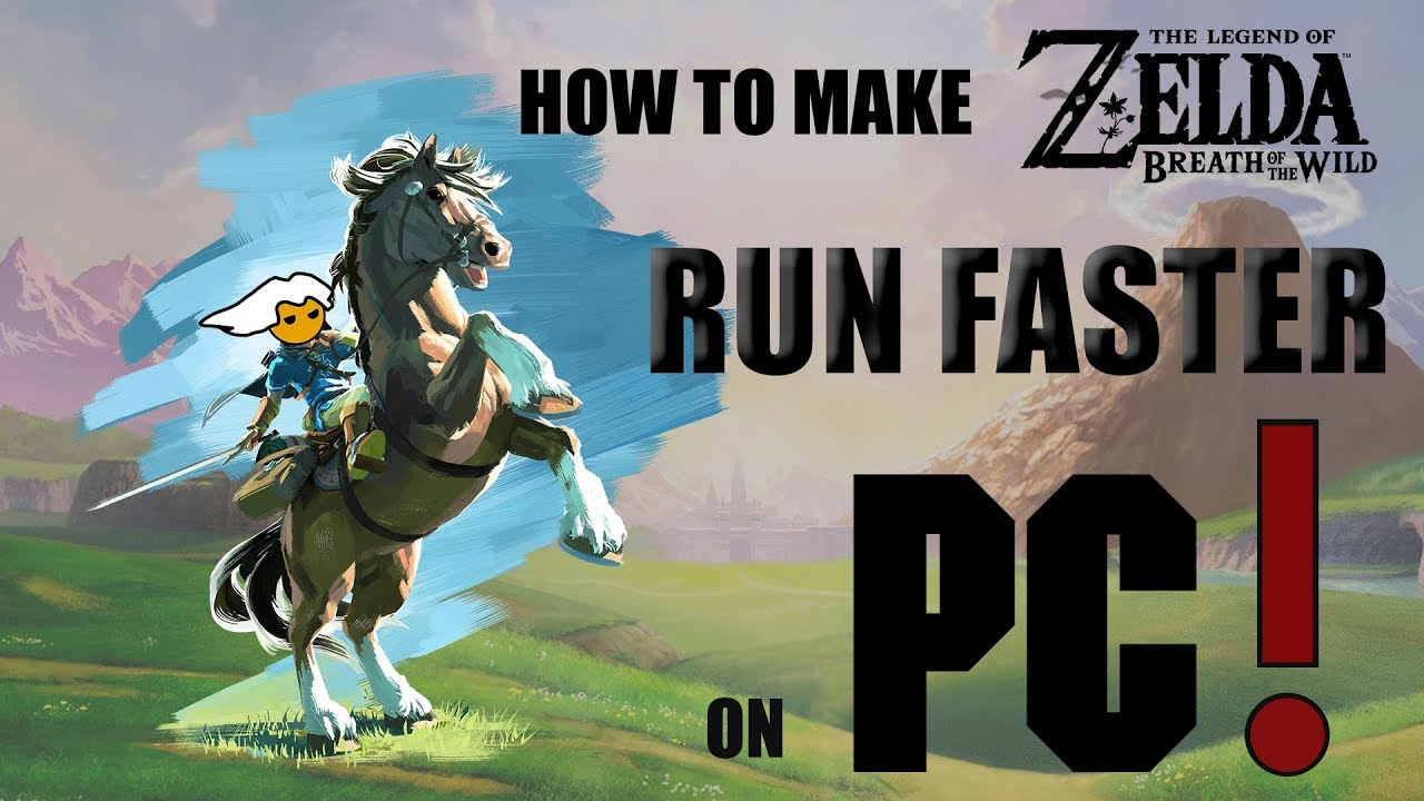 HOW TO MAKE BREATH OF THE WILD RUN FASTER ON PC (cemu 1 9)
