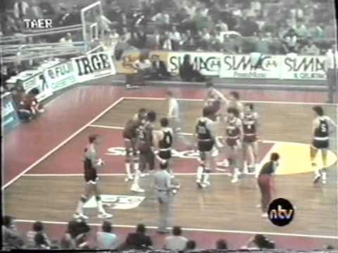 Simac Olimpia Milano vs Granarolo Virtus Bologna 1984 gara 3 27 maggio 1984