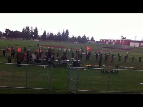 Ontario High School Marching Band 2012 Final Runthrough