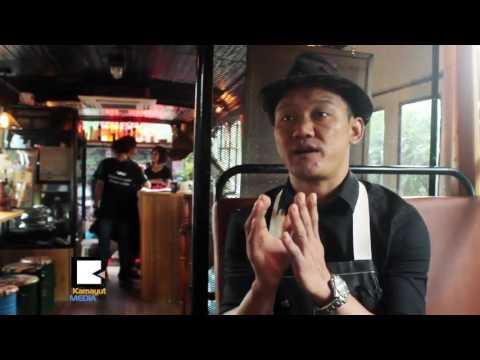 ဓာတ္ပံု႐ိုက္ခ်င္စရာ အျပင္အဆင္ေတြနဲ႔ Yangon Bus Café