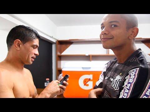 Figueirense 0 x 1 Santos | BASTIDORES | Copa do Brasil (23/09/15)