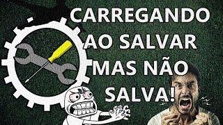 COMO RESOLVER O BUG AO SALVAR NO BRASFOOT 2016?