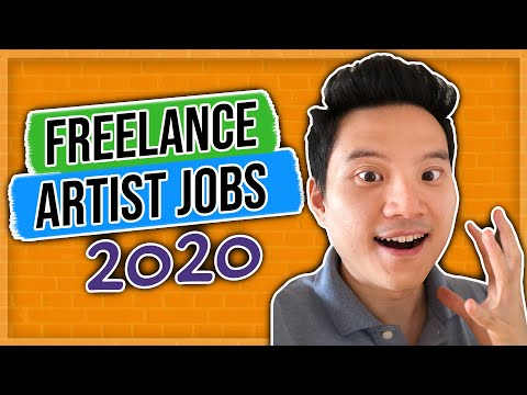 Freelance Artist Jobs 2020 (Real Ways To Earn Money With Your Art)