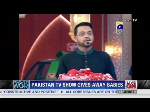 Pakistan TV Show Gives Away Babies