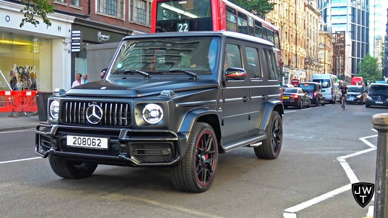 New 2018 Mercedes Benz G63 Amg G Wagon Spotted In London Youtube
