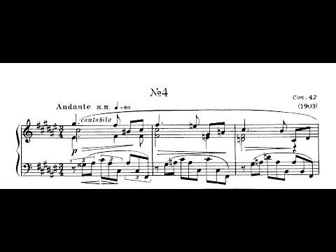 Scriabin: Etude Op. 42 No. 4 in F-Sharp Major