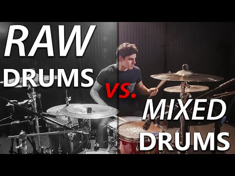 Raw Drums vs. Mixed Drums #1 (Heavy Metal)