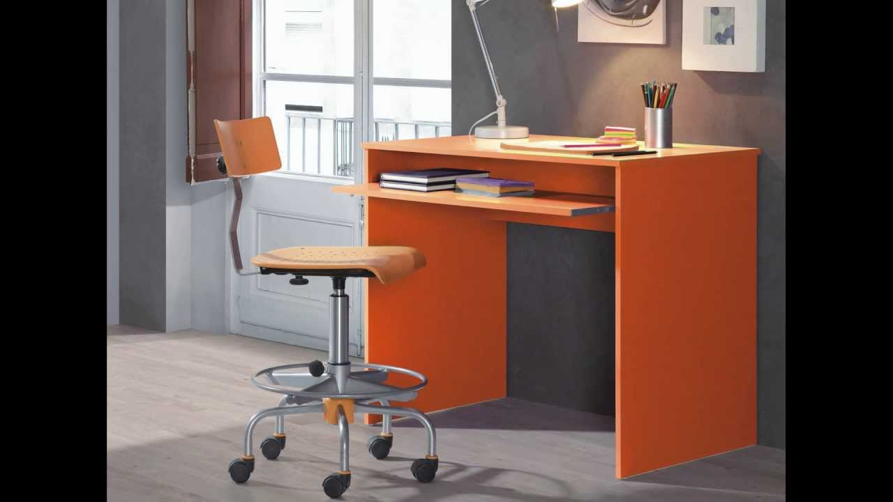 Mesa escritorio con bandeja extra ble mesas escritorio - Escritorio habitacion ...